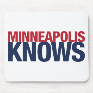 Minneapolis Knows Mouse Pad