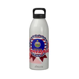 Minneapolis, KS Drinking Bottle