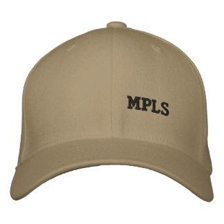 Minneapolis Lid Embroidered Baseball Hat