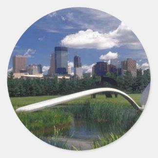 Minneapolis memorabilia sticker