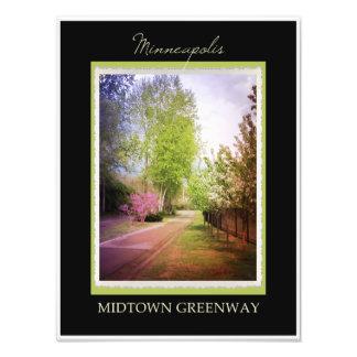 Minneapolis Midtown Greenway Art Photo
