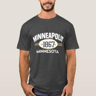 MINNEAPOLIS MINNESOTA 1867 CITY INCORPORATED TEE