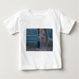 Minneapolis Minnesota Birds Eye View Baby T-Shirt