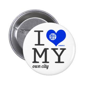 Minneapolis | Minnesota Pinback Buttons