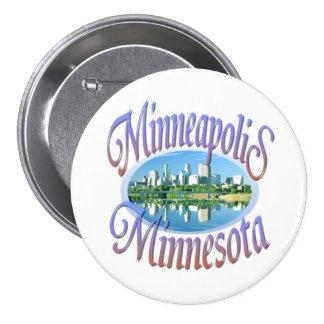 Minneapolis Minnesota Button