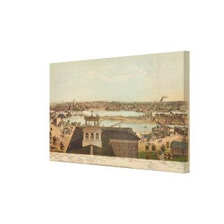 Minneapolis, Minnesota Stretched Canvas Prints