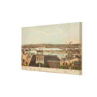 Minneapolis, Minnesota Canvas Print