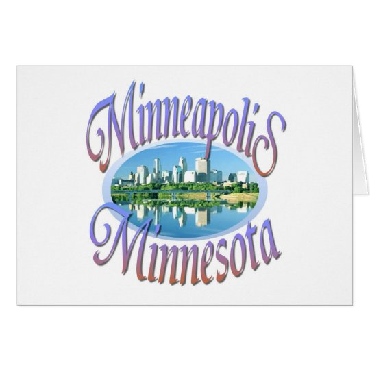 Minneapolis Minnesota Card