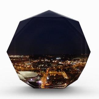 Minneapolis Minnesota City Skyline and Metrodome Awards