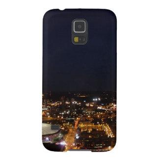 Minneapolis Minnesota City Skyline and Metrodome Galaxy S5 Cover