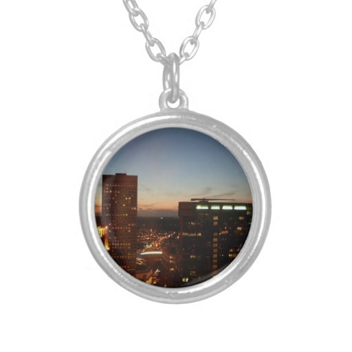 Minneapolis Minnesota City Skyline Pendant