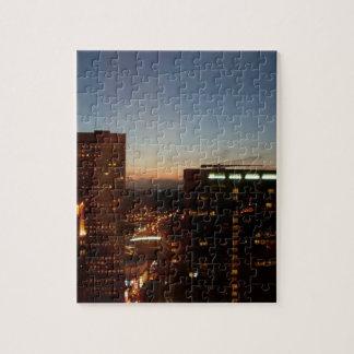 Minneapolis Minnesota City Skyline Jigsaw Puzzle