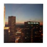 Minneapolis Minnesota City Skyline Tile