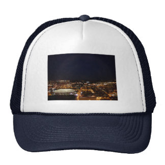 Minneapolis Minnesota Downtown Metrodome at Night Trucker Hat