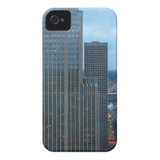 Minneapolis Minnesota Downtown Summer iPhone 4 Case-Mate Cases