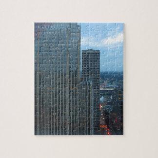 Minneapolis Minnesota Downtown Summer Jigsaw Puzzles