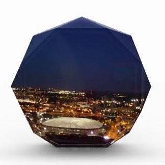 Minneapolis Minnesota HHH Metrodome Night Skyline Award