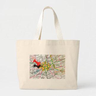 Minneapolis, Minnesota Large Tote Bag