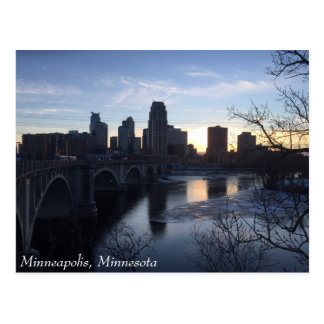 Minneapolis, Minnesota postcard