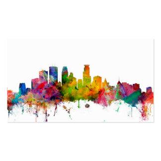 Minneapolis Minnesota Skyline Business Card