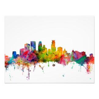 Minneapolis Minnesota Skyline Photo