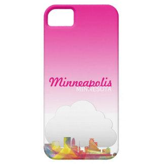 MINNEAPOLIS, MINNESOTA SKYLINE WB1 - iPhone SE/5/5s CASE