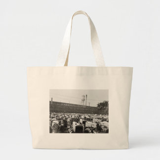 Minneapolis-Moline Tractors: 1939 Large Tote Bag
