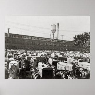 Minneapolis-Moline Tractors: 1939 Poster