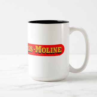 Minneapolis Moline Tractors Two-Tone Coffee Mug