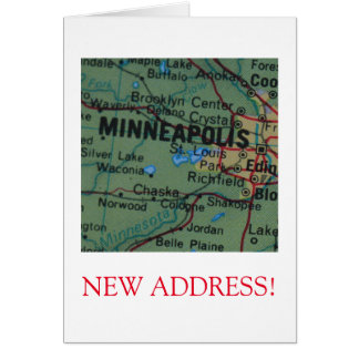 Minneapolis New Address announcement