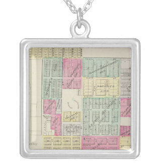 Minneapolis, Ottawa County, Kansas Silver Plated Necklace