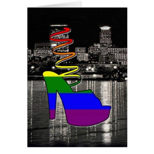 Minneapolis Pride Greeting Card