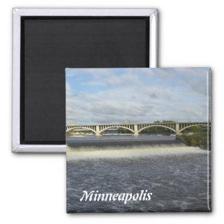 Minneapolis Saint Anthony Falls Photo Magnet 1