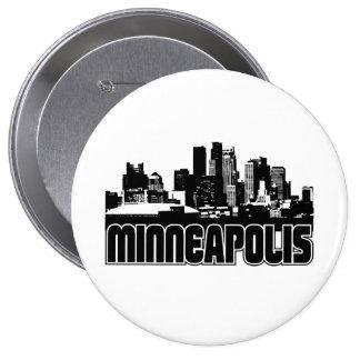 Minneapolis Skyline Pinback Buttons
