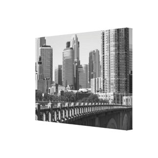 Minneapolis Skyline In Daylight Gallery Wrap Canvas