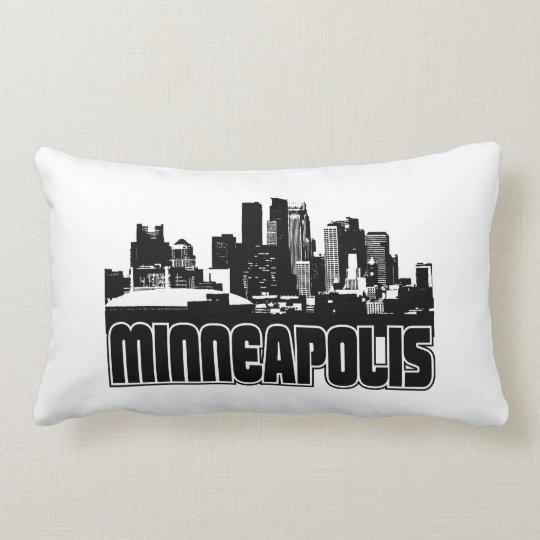 Minneapolis Skyline Lumbar Pillow