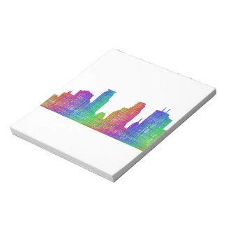 Minneapolis skyline notepad