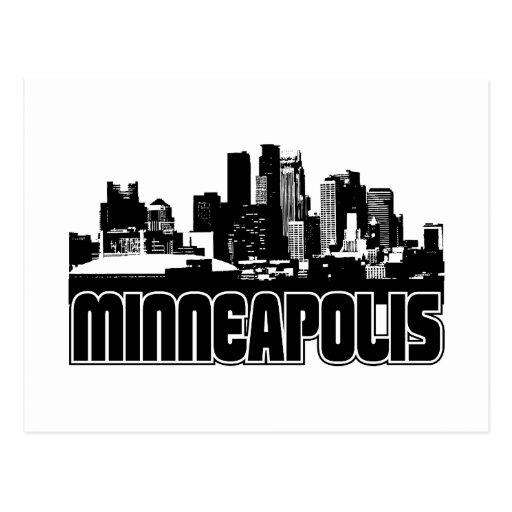 Minneapolis Skyline Postcard