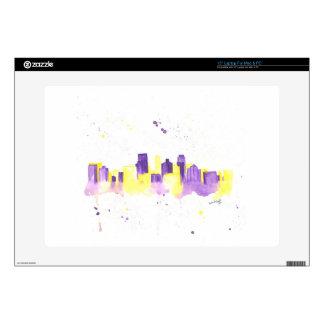 """Minneapolis Skyline Skins For 15"""" Laptops"""