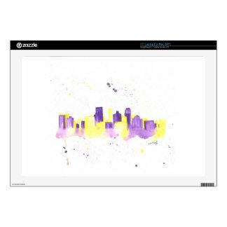 """Minneapolis Skyline Skins For 17"""" Laptops"""