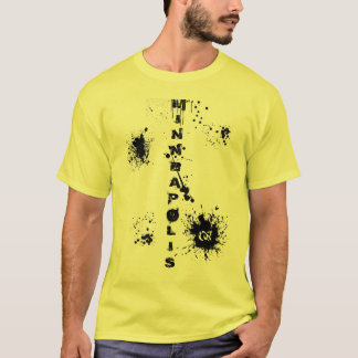 Minneapolis Splatter T-Shirt