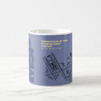 Minneapolis-St. Paul Airport (MSP) Diagram Coffee Mug