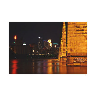 Minneapolis Stone Arch Bridge Canvas Print