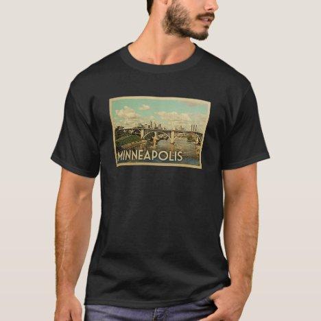 Minneapolis Vintage Travel T-shirt