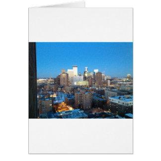 Minneapolis Winter Greeting Card