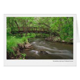 Minnehaha Creek near Portland Avenue Greeting Card