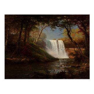 Minnehaha Falls by Alfred Bierstadt Postcard