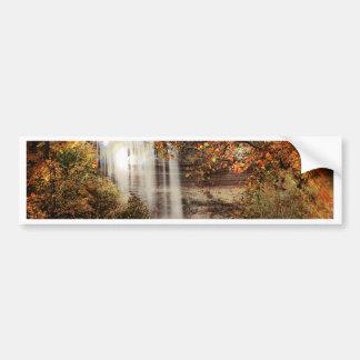 Minnehaha Falls, Minneapolis, Minnesota Circa 1900 Bumper Sticker