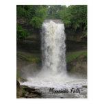 Minnehaha Falls Post Card
