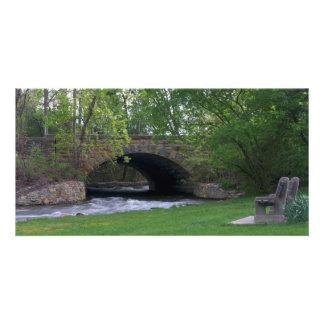 Minnehaha Park Creek and Bridge Card